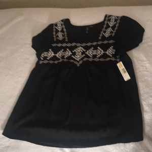 Women's blouse size small, new directions